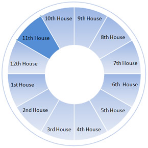 The Eleventh House Wheel