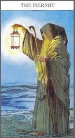 The Hermit Card of the Tarot