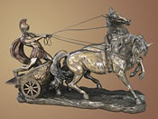 Charioteer, Bronze Sculpture