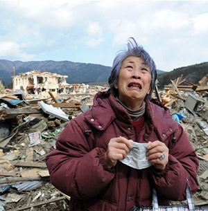 Devastaion of the 2011 Japan Tsunami