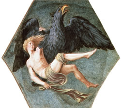 Ganymede and Aquila